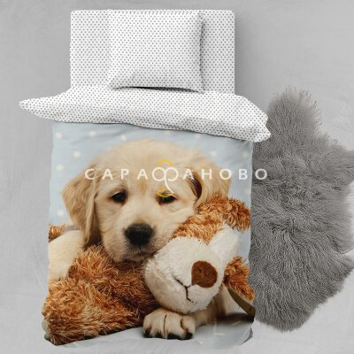 КПБ  Juno 16198-1/15310-4 Puppy and toy